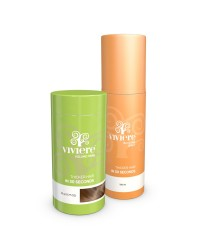 VIVIERE 22 Gr. Hair Fibers inkl. Fixier Spray 50 ml.